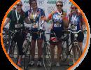 Team VetMed Members participated in Katie's Ride earlier this year.