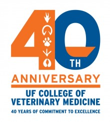 College 40th Anniversary Logo